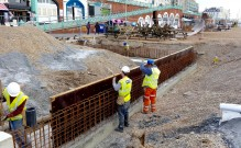 Brighton Seafront – Retaining Walls and Hard Standings